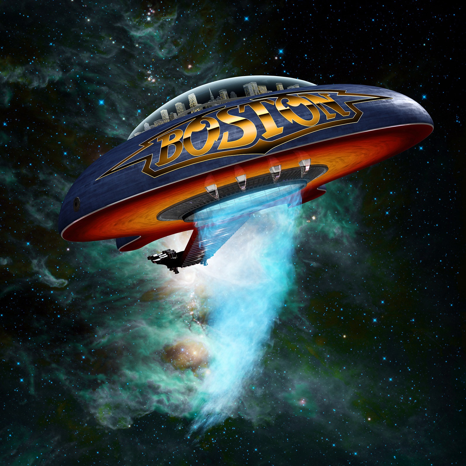 Boston guitar spaceship 2013 CGI  update