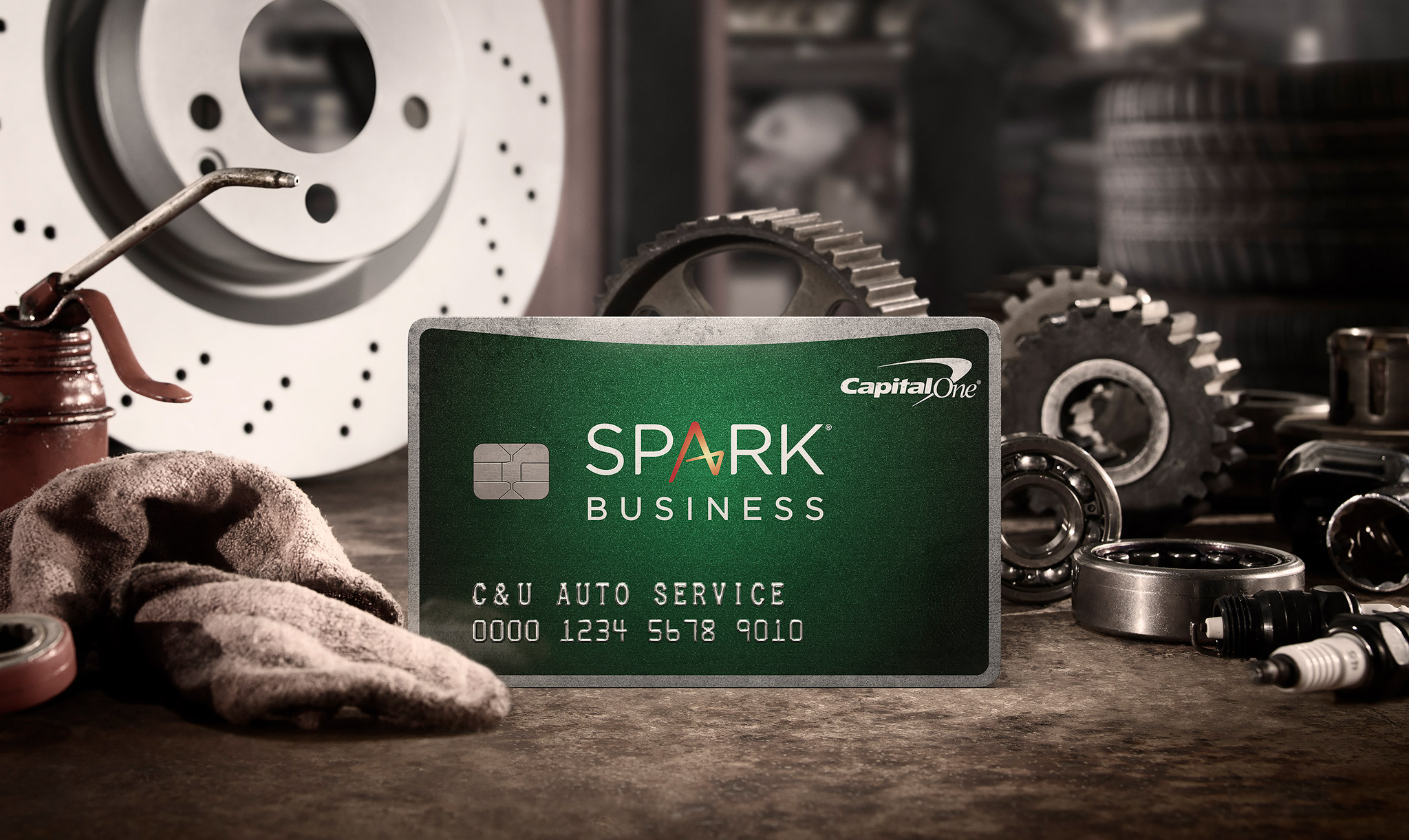 Capital One | Spark Business Card | | Glen Wexler | Conceptual Advertising  Photography | CGI