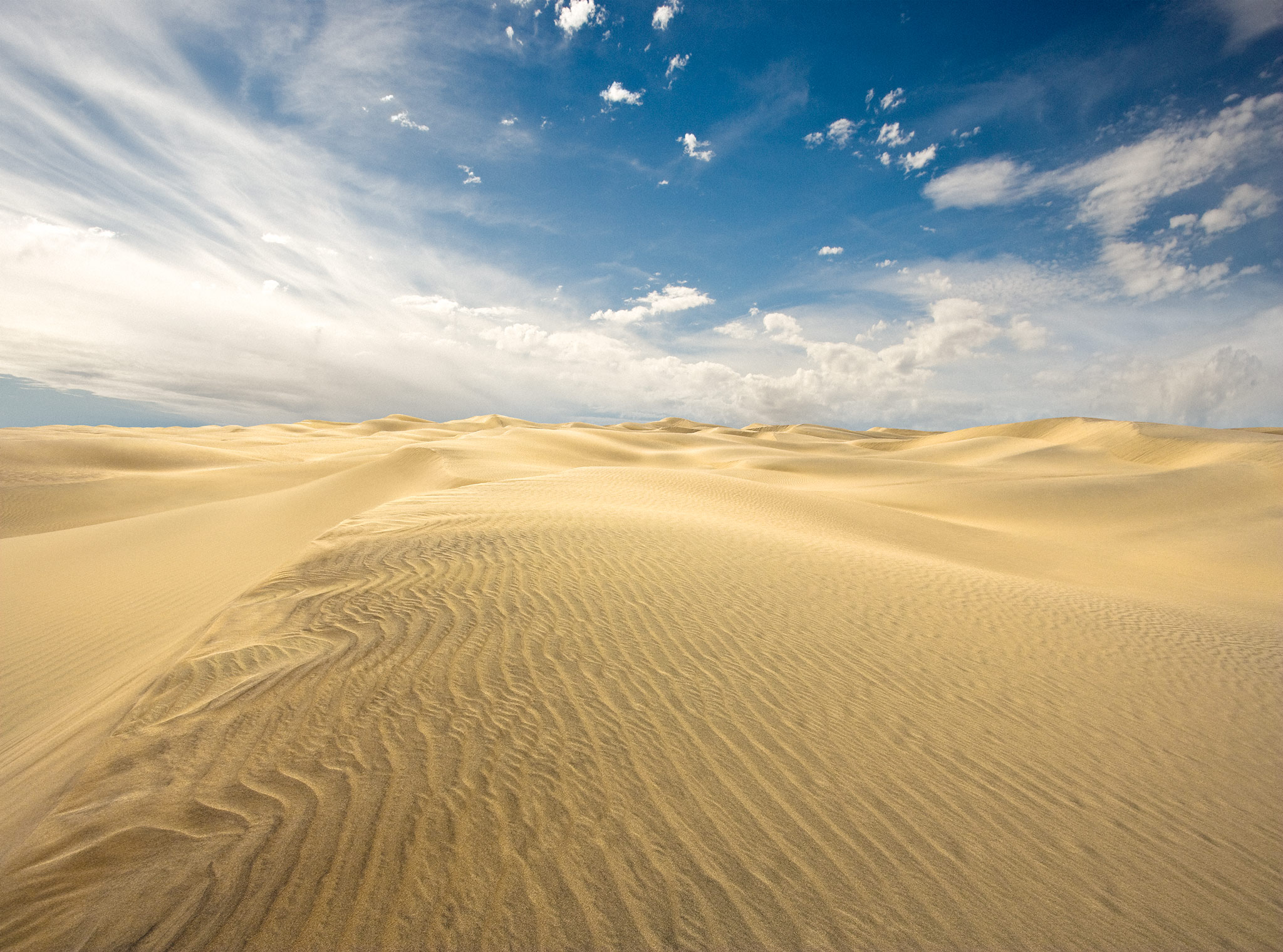 Sand Dunes | Death Valley
