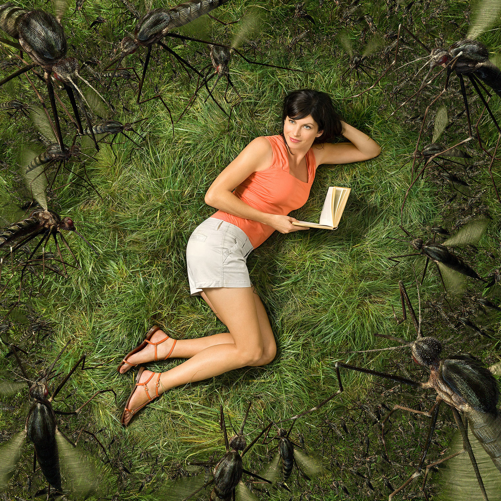 OFF! | CGI  mosquitos with studio set  | Glen Wexler | Advertising Photographer