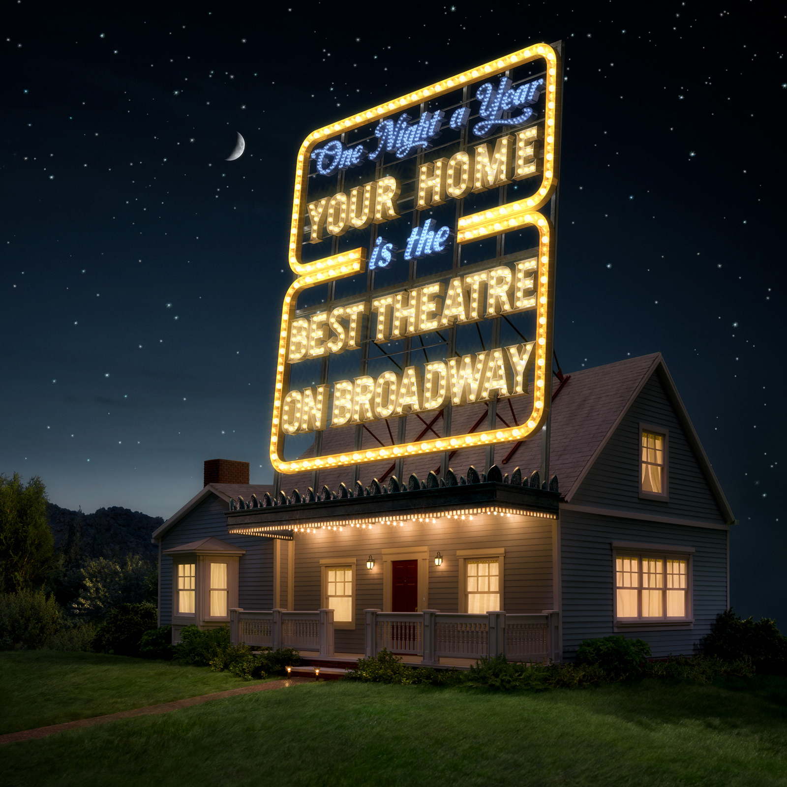 Tony Awards | CGI combined with miniature set | Glen Wexler | Advertising Photographer